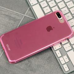 FlexiShield iPhone 8 Plus / 7 Pluss Gel Hülle in Pink