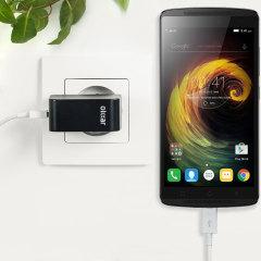 Olixar High Power 2.4A Lenovo K4 Note Wall Charger - EU Mains