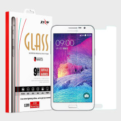 Made from high quality tempered glass, the Zizo Lightning Shield provides crystal clear, responsive protection for your Samsung Galaxy Grand Prime. Easy to apply, the bubble-free installation takes a matter of seconds.