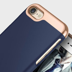 Caseology Savoy Series iPhone 7 Hülle Navy Blau