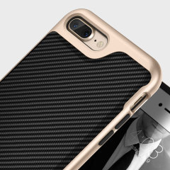 Composée d'une structure en polycarbonate solide ainsi que d'une partie en TPU robuste la coque Envoy Serie de chez Caseology possède également un revêtement texturé ainsi qu'un design effet fibre de carbone. Protégez votre iPhone 7 Plus dans une coque fine, élégante et résistante.