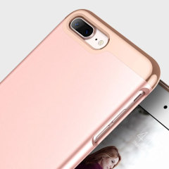 Caseology Savoy Series iPhone 7 Plus Hülle Rosa Gold
