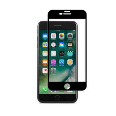 Designed for the iPhone 7 Plus, the black IonGlass Glass Screen Protector from Moshi has been designed to protect your display while ensuring the iPhone screen maintains the highest possible level of fingertip sensitivity and clarity.