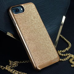 Prodigee Sparkle Fusion Glitter Case iPhone 7 Plus Hülle in Rose Gold