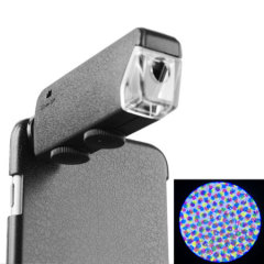 60X-100X Clear Magnifying iPhone 6S Plus / 6 Plus Microscope & Cover