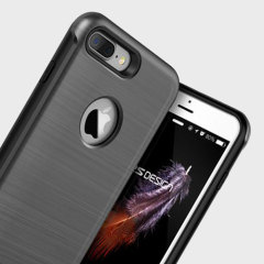 VRS Design Duo Guard iPhone 7 Plus Case Hülle in Dunkel Silber
