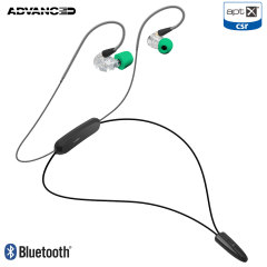 Engineered to provide Hi-resolution audio, the Adv Sound Model 3 in-ear wireless monitors deliver clear, precisely tuned sound. Featuring aptX support and a unique hybrid design, the Model 3s can be used via Bluetooth or as a wired set.