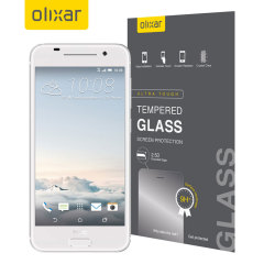 This ultra-thin tempered glass screen protector for the HTC One S9 from Olixar offers toughness, high visibility and sensitivity all in one package.