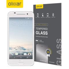 Deze ultra dunne screen protector van gehard glas voor de HTC One S9 van Olixar biedt sterke bescherming, hoge zichtbaarheid en gevoeligheid allemaal in één.