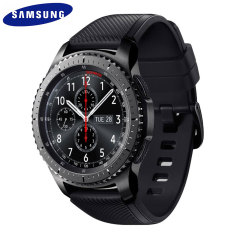 Check out Facebook posts, catch up on tweets, texts and email as well as play music using the newly designed Samsung Gear S3 Smartwatch. Complete with GPS and built for to be extremely rugged.