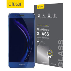 Olixar Huawei Honor 8 Tempered Glas Displayschutz