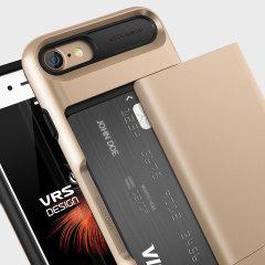 VRS Design Damda Glide iPhone 7 Skal - Skinande Guld