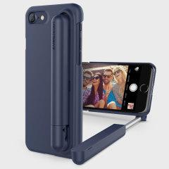 VRS Design Cue Stick iPhone 8 / 7 Selfie Case Hülle in Nacht Blau