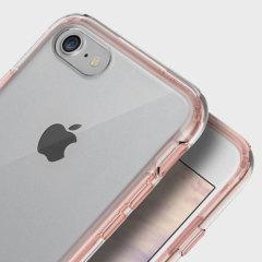 Obliq Naked Shield iPhone 7 Case - Rozé Goud
