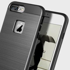 Obliq Slim Meta iPhone 7 Plus Case Hülle in Schwarz Titanium
