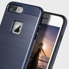 Obliq Slim Meta iPhone 7 Plus Case - Diepblauw
