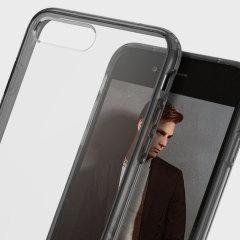 Obliq Naked Shield Series iPhone 7 Plus Hülle in Smoke Schwarz