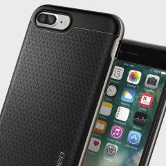 Spigen Neo Hybrid Case iPhone 7 Plus Hülle Gun Metal