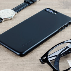 Spigen Thin Fit iPhone 7 Plus Hülle Shell Case in Schwarz