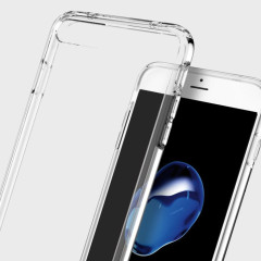Spigen Ultra Hybrid iPhone 7 Plus Bumper Case - Crystal Clear