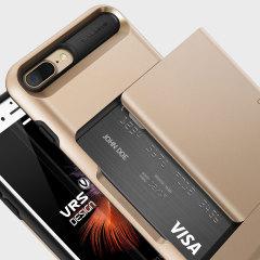 VRS Design Damda Glide iPhone 8 Plus / 7 Plus Hülle in Shine Gold