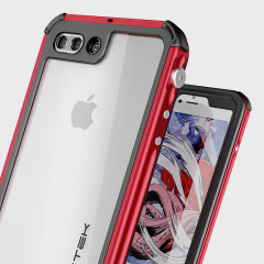 Ghostek Atomic 3.0 iPhone 7 Plus Waterproof Tough Hülle Rot