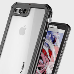 Equip your iPhone 7 Plus with the most extreme and durable protection around! The black Ghostek Atomic 3.0 is completely waterproof and provides rugged drop protection with it's HD scratch resistant screen protector, whilst keeping the phone slim.