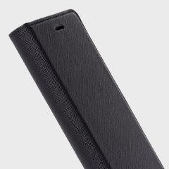 Krusell Malmo Sony Xperia X Compact Folio Case Tasche in Schwarz