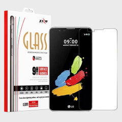Zizo Lightning Shield LG Stylo 2 PlusTempered Glas Displayschutz
