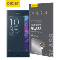 Olixar Sony Xperia XZ Tempered Glas Displayschutz