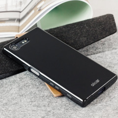 Custom moulded for the Sony Xperia X Compact, this solid black Olixar FlexiShield case provides slim fitting and durable protection against damage.