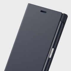 This high quality official bi-fold folio case from Sony houses your Xperia X Compact smartphone, providing protection and access to your ports and features while incorporating a built-in viewing stand - in black.