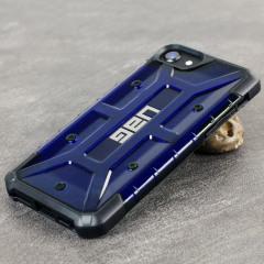 UAG Plasma iPhone 7 Protective Case - Cobalt / Black