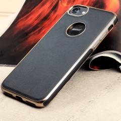 Olixar FlexiLeather iPhone 8 / 7 Hülle in Schwarz