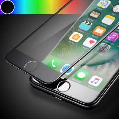 Olixar  iPhone 7 Anti-Blue Light Edge To Edge Glas Displayschutz