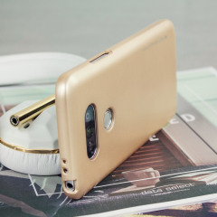 Mercury Goospery iJelly LG G5 Gel Hülle Metallic Gold