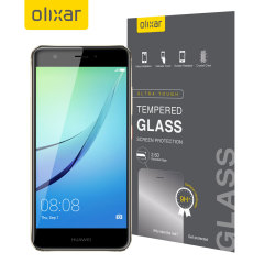 Olixar Huawei Nova Tempered Glas Displayschutz