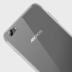 Custom moulded for the Archos 55 Helium, this 100% Clear Olixar FlexiShield case provides slim fitting and durable protection against damage.