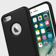Seidio SURFACE iPhone 7 Hülle mit Metall Standfuß in Schwarz