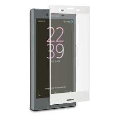 Roxfit Sony Xperia X Compact Tempered Glass Screen Protector - White
