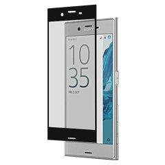 Roxfit Sony Xperia XZ Tempered Glas Displayschutz Schwarz