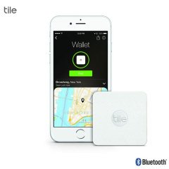 Traqueur Bluetooth Tile Slim – Blanc