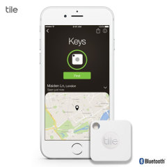 Tile Mate Bluetooth Tracker Device - White