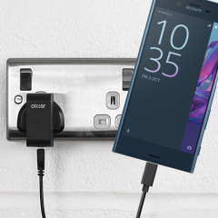 Charge your Sony Xperia XZ and any other USB device quickly and conveniently with this compatible 2.4A high power USB-C UK charging kit. Featuring a UK wall adapter and USB-C cable.