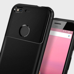 Coque Google Pixel Spigen Rugged Armor Tough - Noire