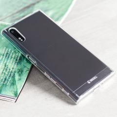 Krusell Kivik Sony Xperia XZ Shell Case Hülle 100% Transparent