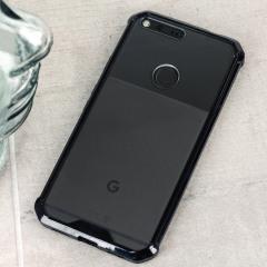 Cruzerlite Defence Fusion Google Pixel Bumper Hülle Schwarz / Klar