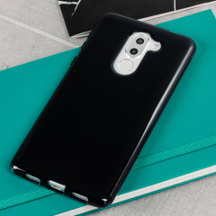 Custom moulded for the Huawei Honor 6X, this solid black FlexiShield case provides slim fitting and durable protection against damage.