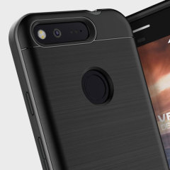 VRS Design High Pro Shield Google Pixel Case - Dark Silver