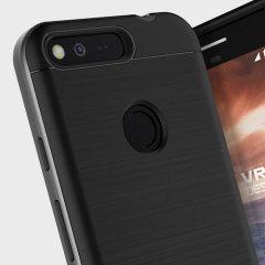 VRS Design High Pro Shield Google Pixel XL Case Hülle Dunkel Silber
